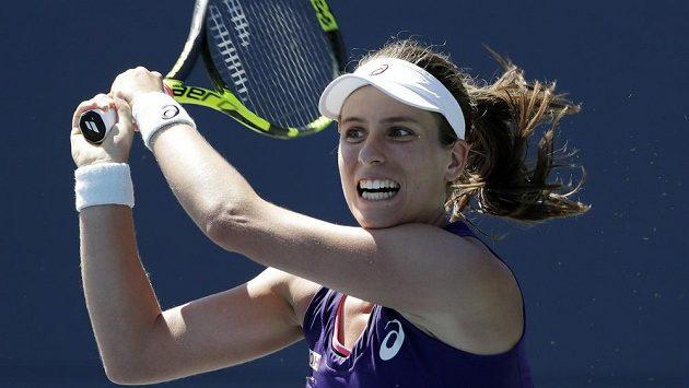 Britská tenistka Johanna Kontaová vyhrála turnaj ve Stanfordu.
