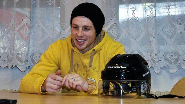Hokejista Jan Jaroměřský.