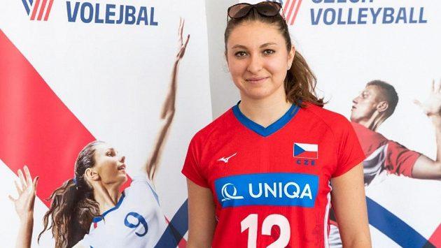 Volejbalistka Michaela Mlejnková je oporou národního celku.