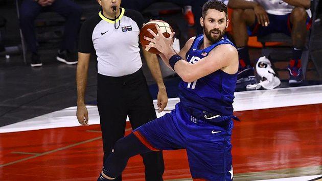Z týmu amerických basketbalistů vypadl před olympijskými hrami také křídelní hráč Clevelandu Kevin Love.