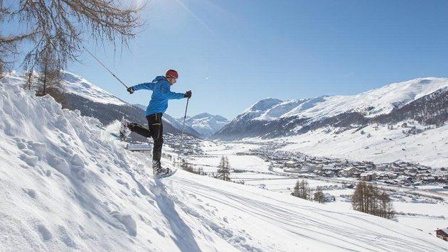 Vám snad někdo říkal, že se na sněhu nedá běhat?