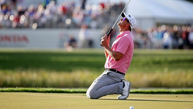 Golfista Adam Scott během Honda Classic v PGA National.