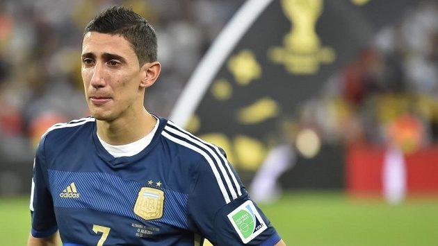 Argentinský záložník Ángel Di María.