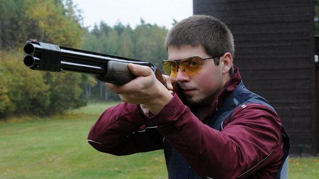 Sportovní střelec Miloš Slavíček na archivním snímku.