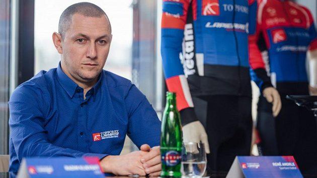 René Andrle, sportovní ředitel českého týmu Topforex Lapierre.