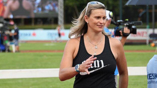 Barbora Špotáková dorazila na mistrovství republiky v Kladně.