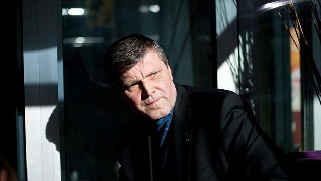 Slovenská hokejová legenda Peter Šťastný.