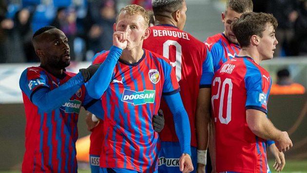 Ondřej Mihálik věnovak svůj vítězný gól proti Českým Budějovicím synovi Tadeášovi.