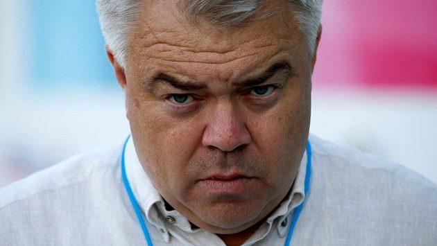 Sekretář ruského atletického svazu Michail Butov.