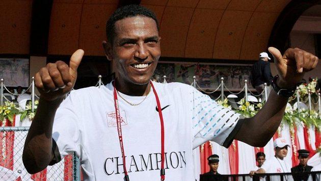 Takto prý vypadá nejefektivnější běžec světa: Zersenay Tadese.