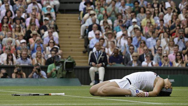 Francouzská tenistka Marion Bartoliová postoupila do finále Wimbledonu.