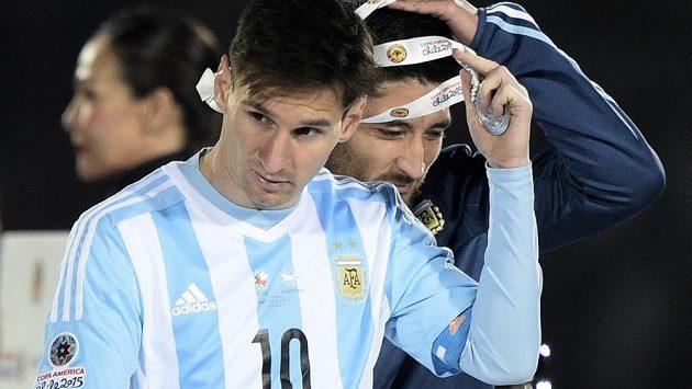 Lionel Messi v reprezentaci Albiceleste stále čeká na velkou seniorskou trofej.