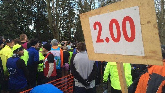 Bude to nejspíše ještě chvíli trvat, než se takových časů dočkáme na maratonu.