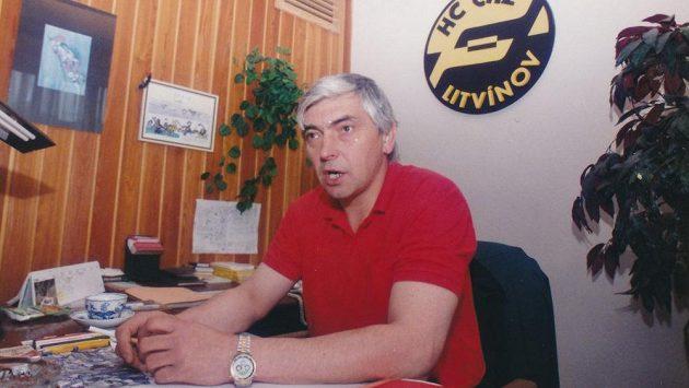 Hokejový trenér Ivan Hlinka.