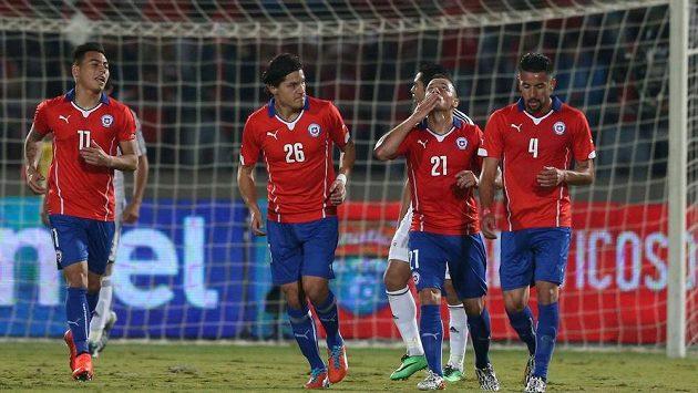 Fotbalisté Chile