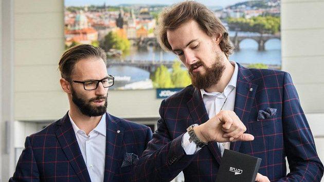 Vojtěch Hruban (vlevo) a Ondřej Balvín na archivním snímku.