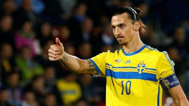 Švédský útočník Zlatan Ibrahimovic míří do Manchesteru United.