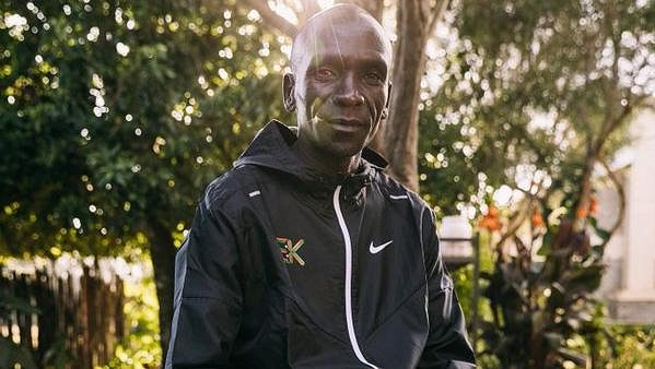 Olympijský vítěz a světový rekordman v maratonu Eliud Kipchoge.