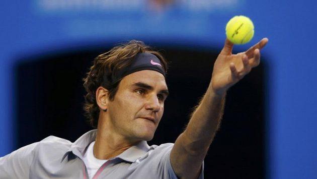 Švýcar Roger Federer.