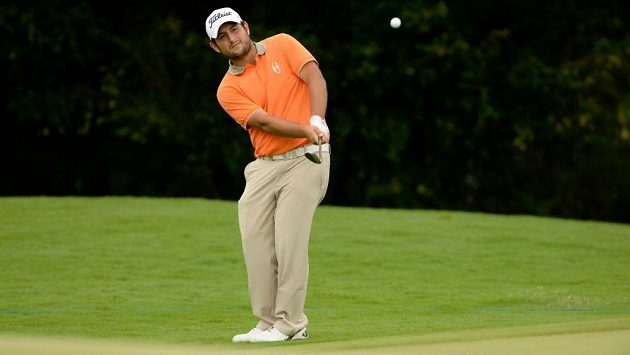 Francouzský golfista Alexander Levy.