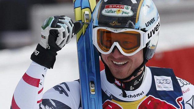 Hannes Reichelt vyhrál slavný sjezd SP v Kitzbühelu.