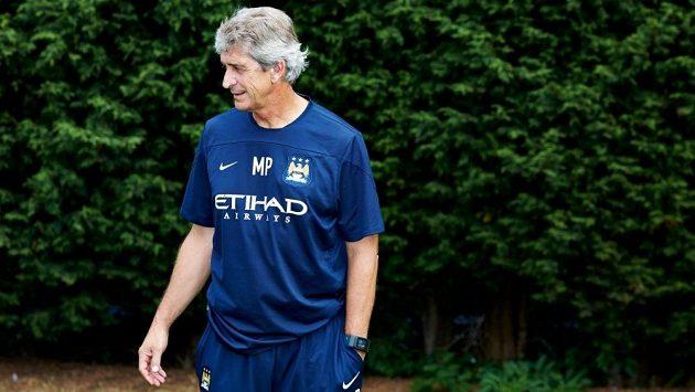 Trenér Manchesteru City Manuel Pellegrini.