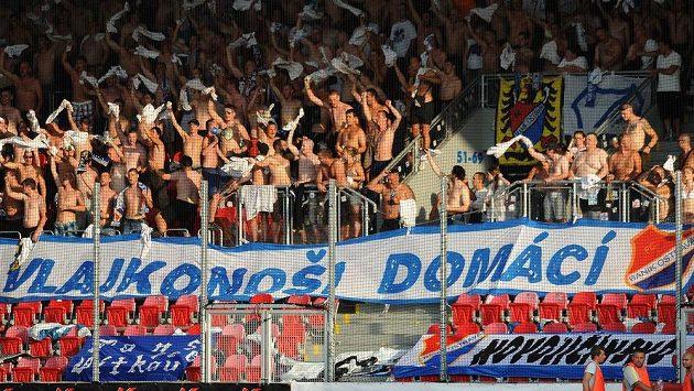 Fanoušci Baníku Ostrava