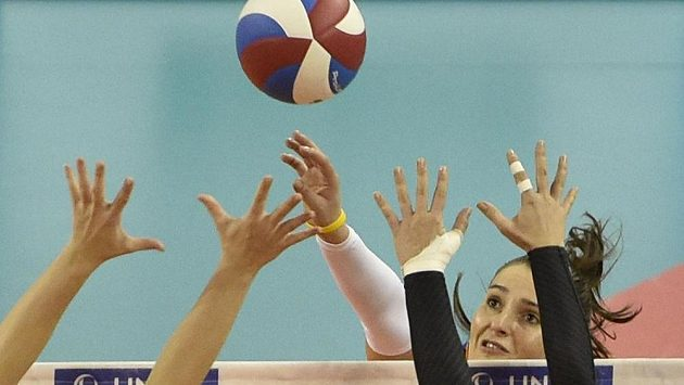 Volejbal žen - ilustrační foto.