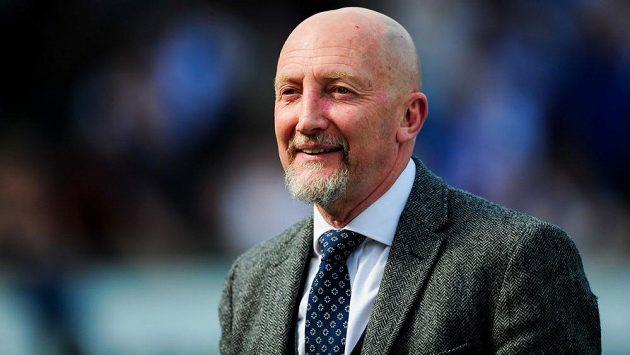 Známý anglický fotbalový trenér Ian Holloway.