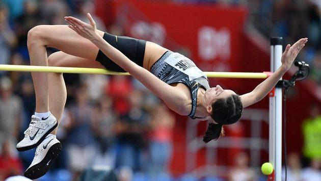 Ruská výškařská hvězda Maria Lasickeneová na Zlaté tretře - ilustrační foto.