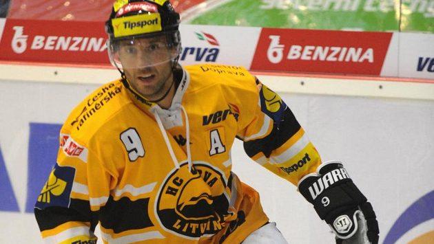 Martin Ručinský, nejproduktivnější hráč Litvínova.