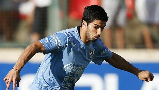 Uruguayský útočník Luis Suárez.