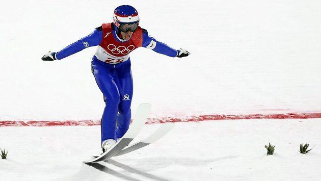 Český skokan na lyžích Roman Koudelka - ilustrační foto.