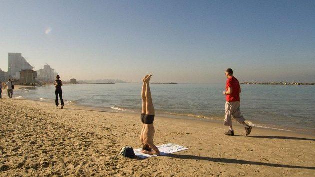 I jóga může být vhodným běžeckým doplňkem.