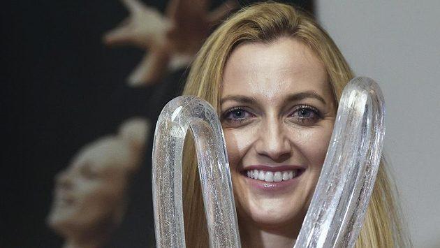 Tenistka Petra Kvitová převzala Cenu Věry Čáslavské za mimořádné zásluhy žen ve sportu a olympijském hnutí.