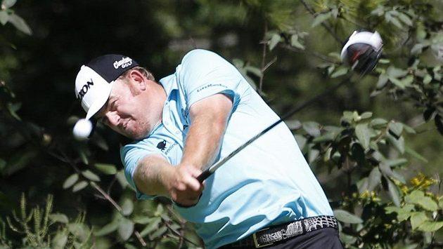 Americký golfista J.B. Holmes.