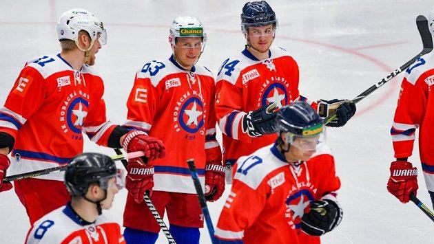 Hokejisté Třebíče - ilustrační foto.