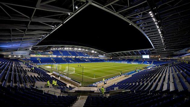 Stadion Brightonu. Ilustrační foto