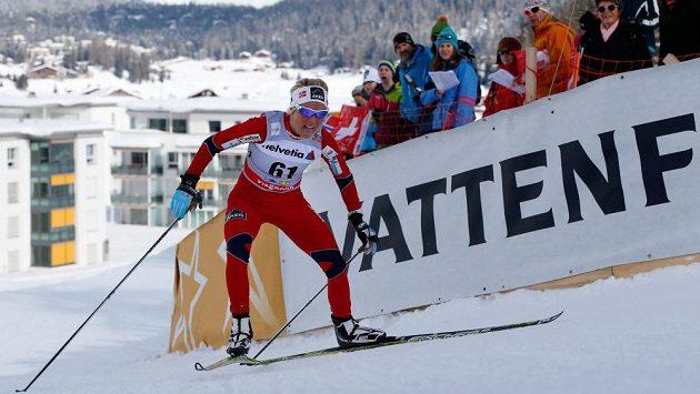 Therese Johaugová z Norska (na snímku) vyhrála na mistrovství světa v klasickém lyžování ve Val di Fiemme závod na 10 kilometrů volnou technikou.