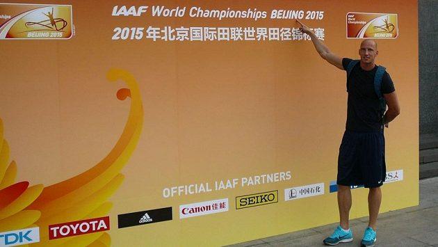Překážkář Petr Svoboda už se v Pekingu chystá na mistrovství světa.