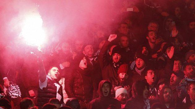 Fotbaloví fanoušci (ilustrační foto).