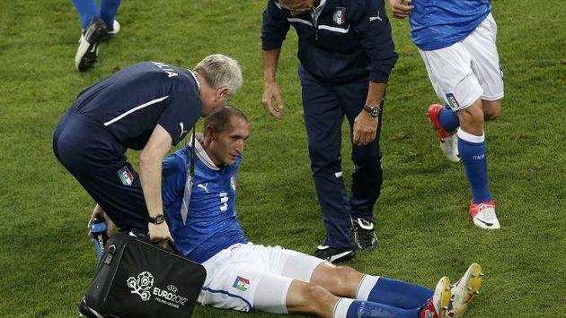 Pro Giorgia Chielliniho možná skončilo celé Euro.