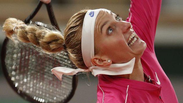 Petra Kvitová postoupila na French Open v Paříži do 3. kola.