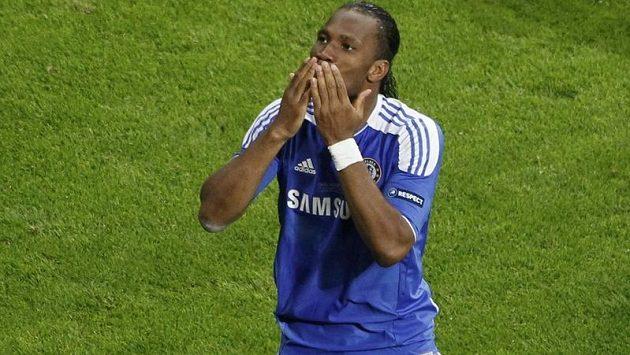 Didier Drogba se loučí s fanoušky Chelsea, příští sezónu odehraje v Číně.