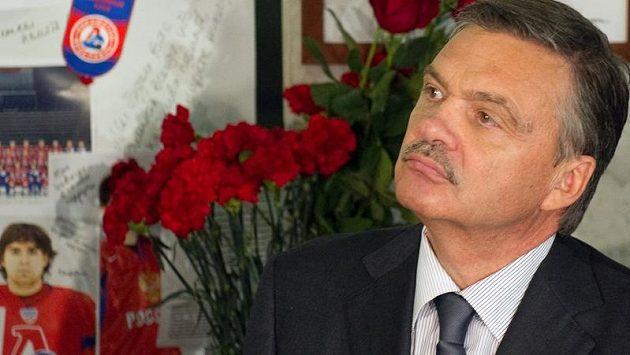 Šéf Mezinárodní hokejové federace René Fasel