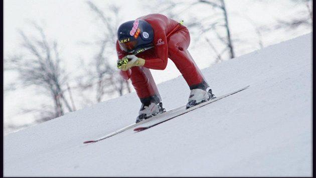 Rychlostní lyžař Radek Čermák na archivním snímku.
