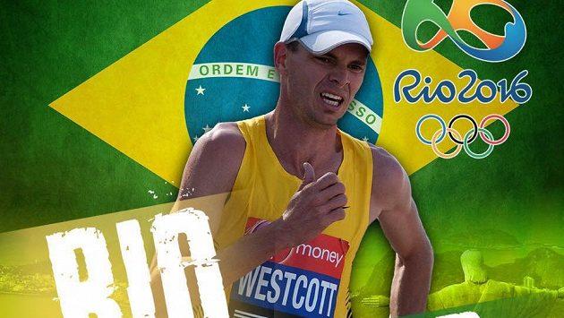 Scott Westcott se dočkal. Ve 40 letech si zazávodí na olympiádě, poběží maratón.