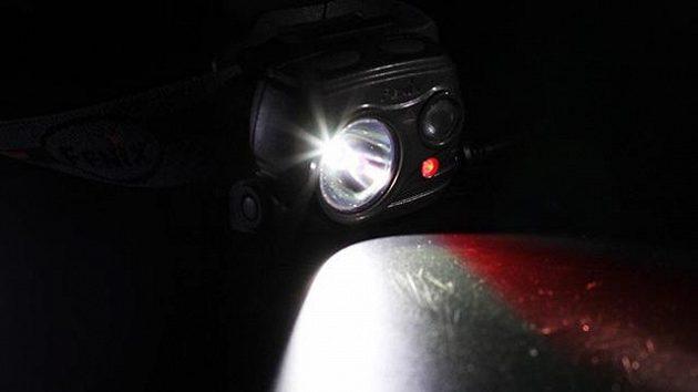Čelovka Fenix HP25R: Tři různé světlomety podtrhují velkou univerzálnost.