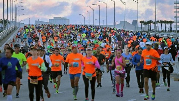 Tisíce lidí se v Miami vydaly krájet kilometry.