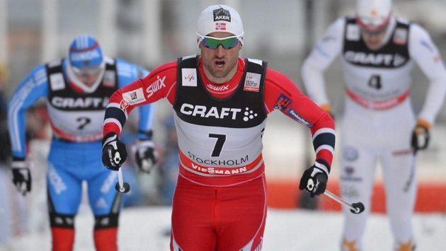 Petter Northug kraloval závodu SP ve Stockholmu.